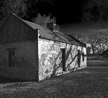 Slave Quarters - Melrose Plantation  by Mike Capone