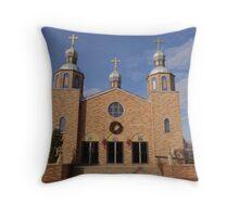 Ukranian Orthodox Throw Pillow