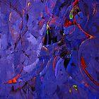 Blue plasterwork by oustinov