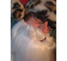 Mr Santa Photographic Print