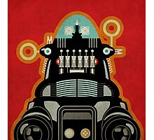 Robbie the Robot from Forbidden Planet Photographic Print