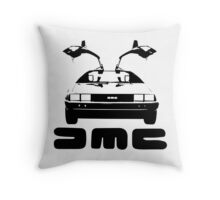 DeLorean DMC Throw Pillow