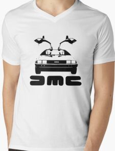 DeLorean DMC Mens V-Neck T-Shirt