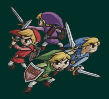 "Zelda ""Four Links"" Four Swords by iTzLegolas"
