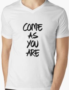 Come as you are, brush - OneMandalaAday Mens V-Neck T-Shirt