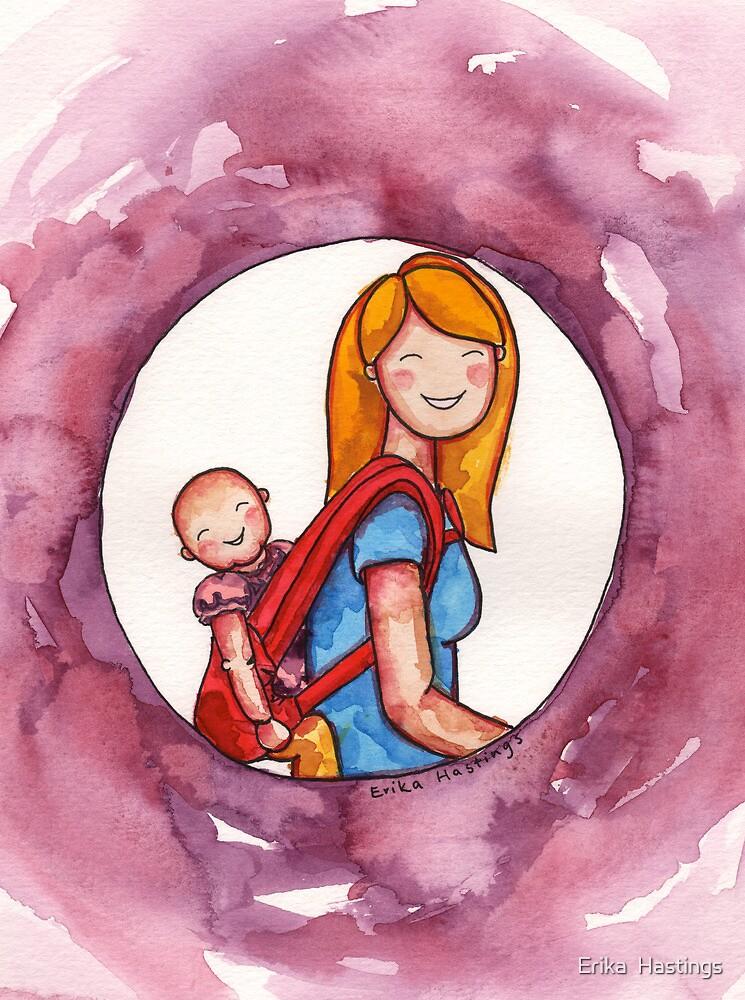 Baby Wearing by Erika  Hastings