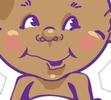 Cute Baby in Diaper Sticker