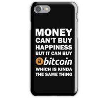 Bitcoin Happy Money iPhone Case/Skin