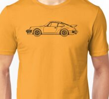 Classic Sports Car Outline Unisex T-Shirt