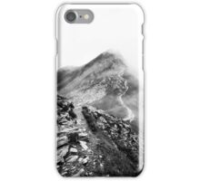 Golm (Alps, Austria) #17 B&W iPhone Case/Skin