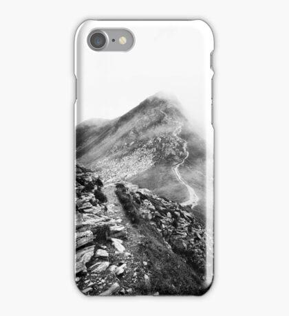 Golm (Alps, Austria) #17 B&W iPhone Case/Skin