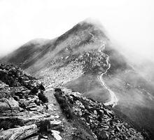Golm (Alps, Austria) #17 B&W by novopics