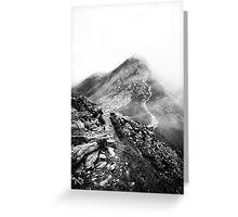 Golm (Alps, Austria) #17 B&W Greeting Card