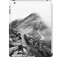 Golm (Alps, Austria) #17 B&W iPad Case/Skin