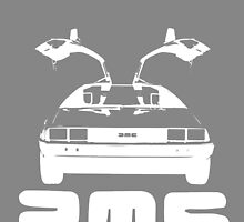 DeLorean DMC NEGATIVE by gallo177