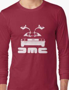 DeLorean DMC NEGATIVE Long Sleeve T-Shirt