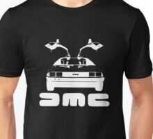 DeLorean DMC NEGATIVE Unisex T-Shirt