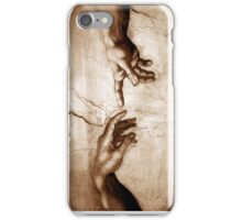 Creation of Adam Detail iPhone Case/Skin