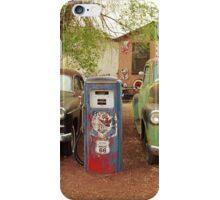 Route 66 - Snow Cap Drive-In iPhone Case/Skin
