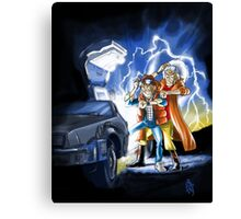BTTF 2015 Mashup Canvas Print