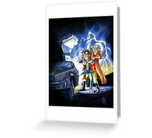 BTTF 2015 Mashup Greeting Card