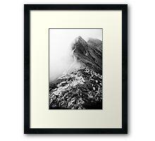 Golm (Alps, Austria) #13 B&W Framed Print