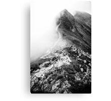 Golm (Alps, Austria) #13 B&W Canvas Print