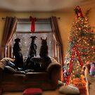 Watching for Santa by Lori Deiter