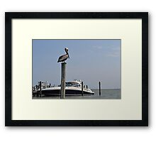 Boating in Florida Framed Print