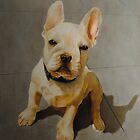 French bulldog painting by Boris J