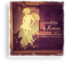 Guess by Marciano Canvas Print