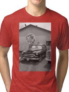 Route 66 Classic Car Tri-blend T-Shirt