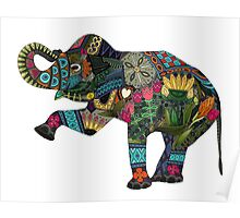 asian elephant white Poster