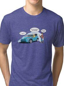 Hybrid to the Future Tri-blend T-Shirt