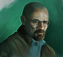 Walter White from Breaking Bad by jrbarker