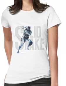 MGS14 - RUSSIAN CAMO SNAKE Womens Fitted T-Shirt