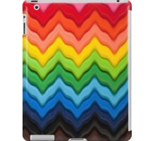 Chevron Rainbow Pencils iPad Case/Skin