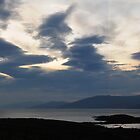 Loch Linnhe Sunset Clouds by cuilcreations