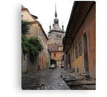 Where Draculya Was Born Canvas Print
