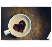 ♥ coffee Poster