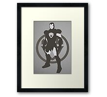 Black Lantern IronMan Framed Print