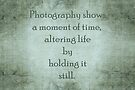 Photography quote by Sandra Foster