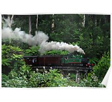 Puffing Billy, Dandenong Ranges Poster