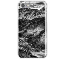 Golm (Alps, Austria) #4 B&W iPhone Case/Skin