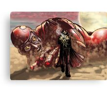 Sci Fi Showdown Canvas Print