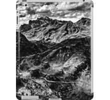 Golm (Alps, Austria) #4 B&W iPad Case/Skin