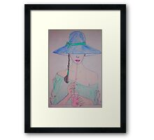 Kissable Framed Print