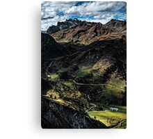 Golm (Alps, Austria) #4 Canvas Print