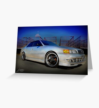 toyota chaser Greeting Card