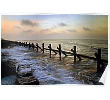West Runton sunset Poster